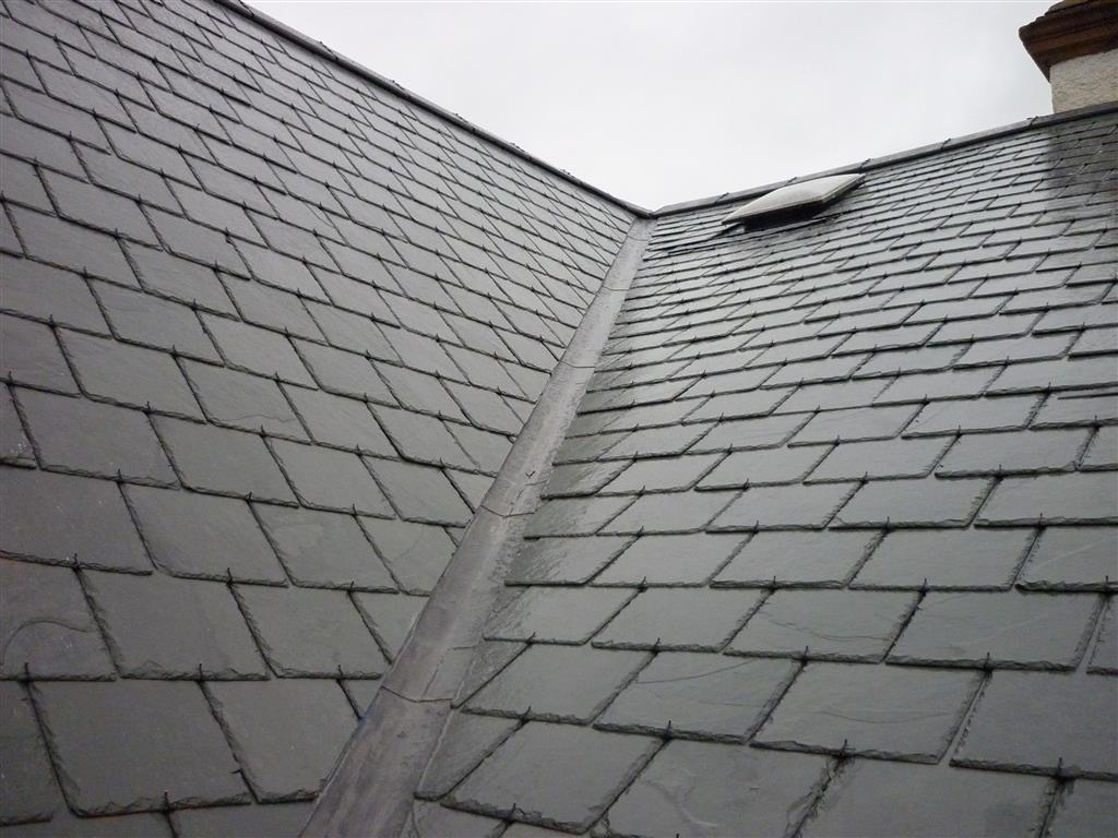 Roof valley lead flashing repairs roof repairs dublin for New roof design
