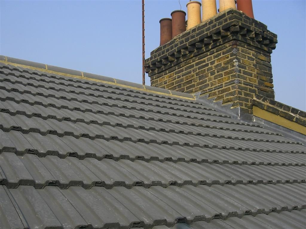 New slates on roof in Dublin