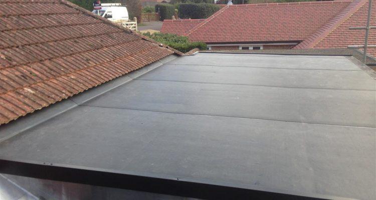 new flat roof installation in Dublin